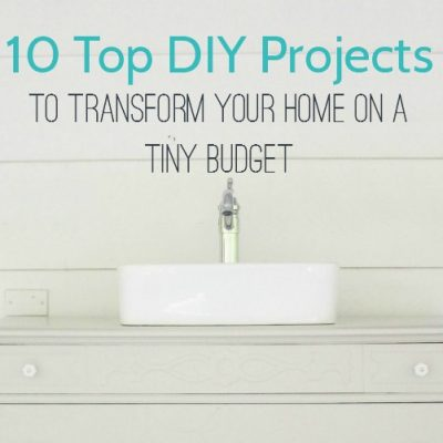 Best of the Year: DIY projects for a beautiful home on a tiny budget