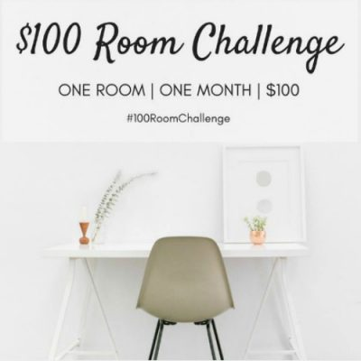 100 Dollar Room Challenge: Hall bathroom makeover