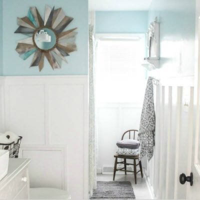 Modern Farmhouse Bathroom: The True Final Budget and Source List