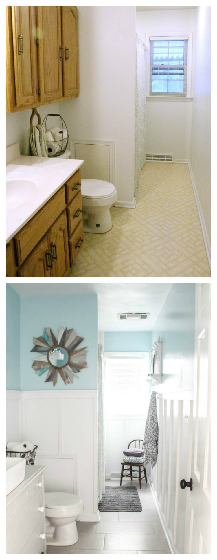 Modern Farmhouse Bathroom The True Final Budget And Source List Lovely Etc