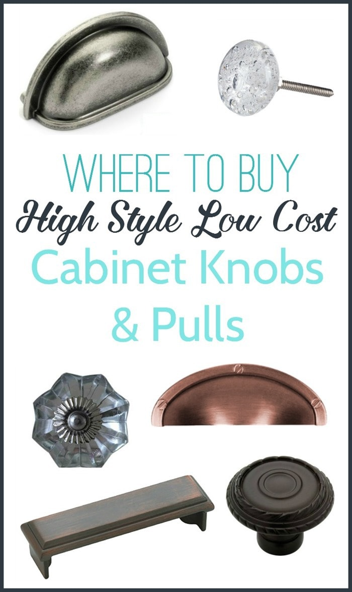 where to buy inexpensive cabinet knobs and pulls