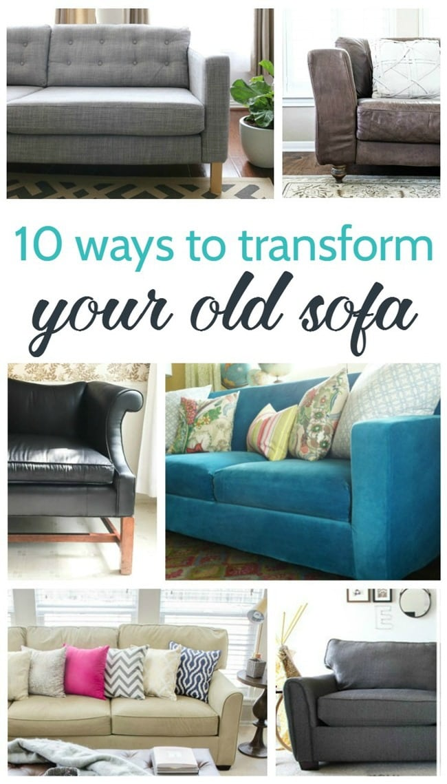 10 Ways To Transform Your Old Sofa Lovely Etc