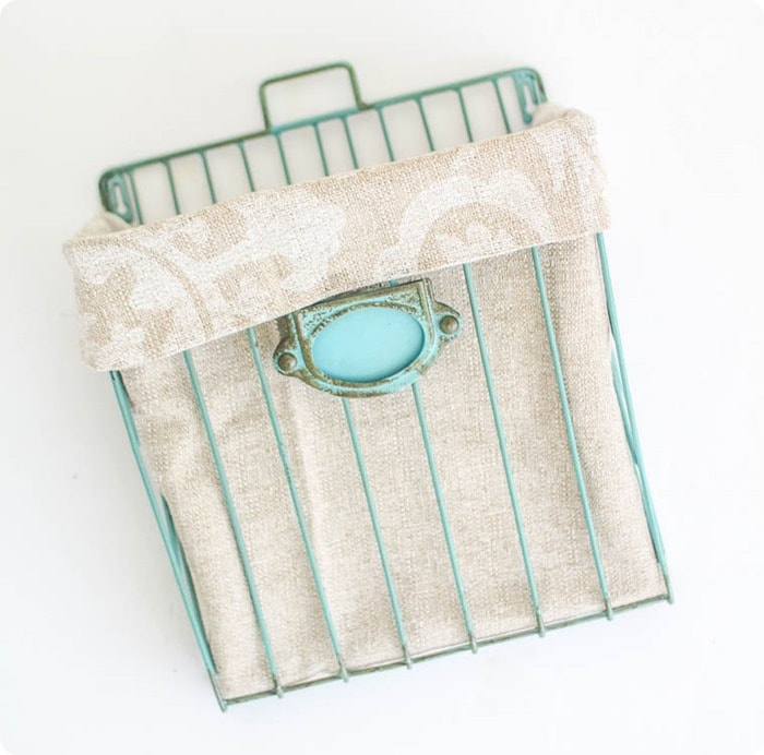 diy basket liner