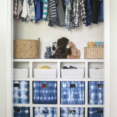 How to Build DIY Closet Shelves