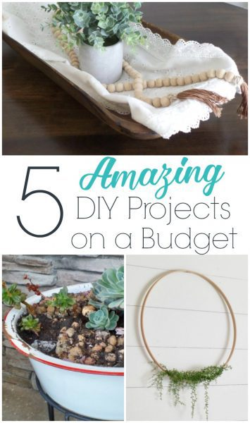 5 amazing diy projects on a budget