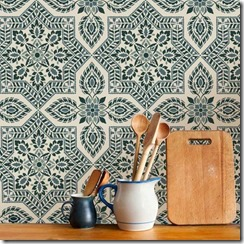 alhambra tile stencil