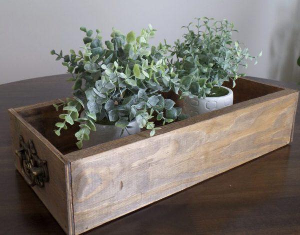 diy wooden crate