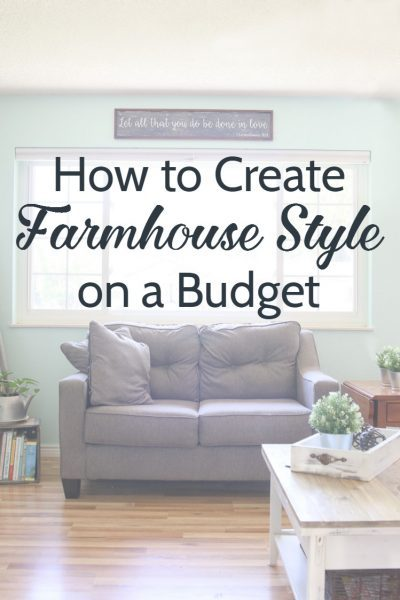 How to decorate farmhouse style on a budget, get that fixer upper look you love for cheap