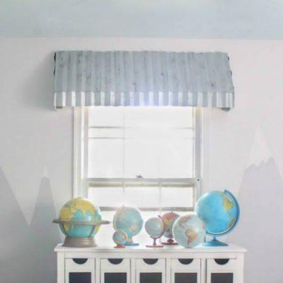 How to make gorgeous farmhouse window awnings