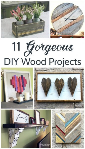 11 gorgeous diy wood projects