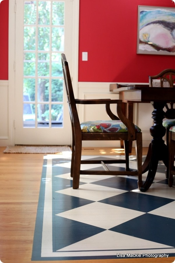 15 Gorgeous Painted Floors Ideas For Every Type Of Flooring