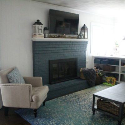 $100 Family Room Makeover Plans