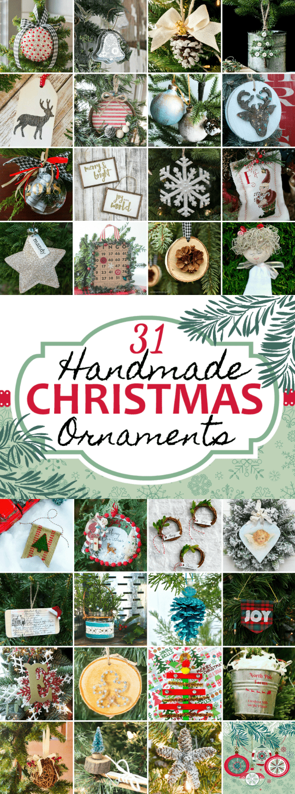 How To Make Cute Diy Farmhouse Christmas Ornaments Lovely Etc