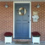 Inexpensive curb appeal for our ugly brick ranch