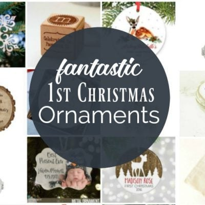 Babys First Christmas Ornament: 15 Fantastic Options