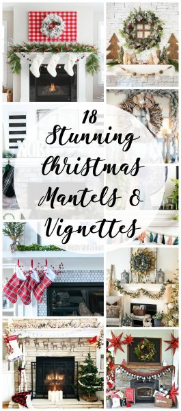 18 Stunning Christmas mantel ideas, Christmas mantels of every size and style