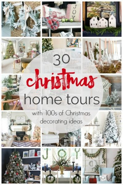 See hundreds of creative Christmas home decor ideas from the simple to the glamorous. Ideas of all Christmas styles from 30 different homes.