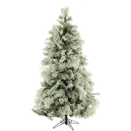 6.5 frasier fir flocked christmas tree