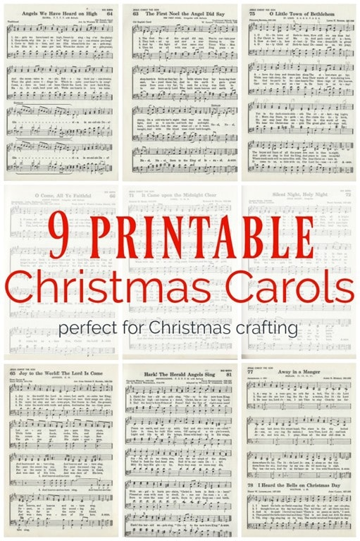 It's just an image of Smart Printable Christmas Carols