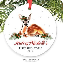 Digibuddha first christmas ornament 2