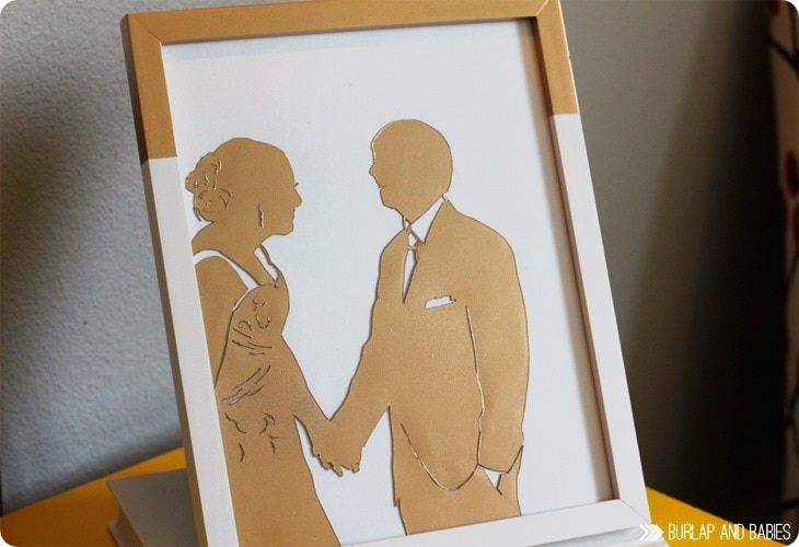 a crafted passion wedding silhouette