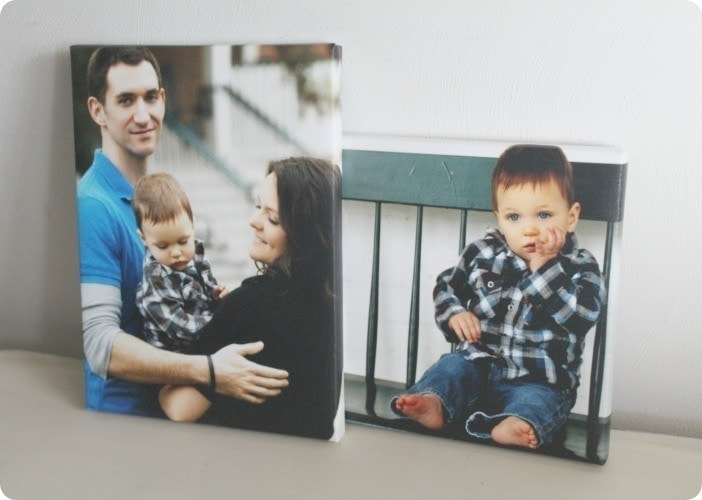 diy photo canvas that looks like the real thing