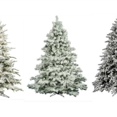 15 Gorgeous Flocked Christmas Trees for Any Budget