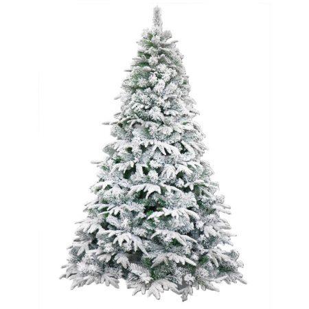 7 Foot Flocked Christmas Tree