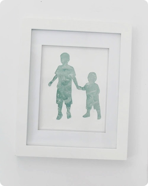 how to make easy silhouette art