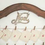 How to make an inexpensive reusable advent calendar