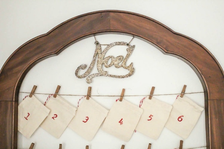 Diy Reusable Advent Calendar : How to make an inexpensive reusable advent calendar