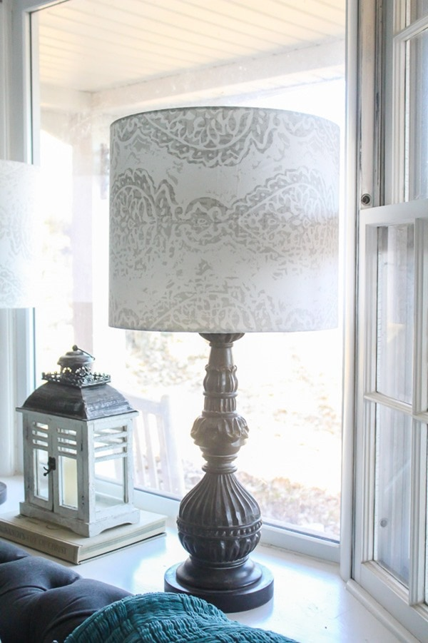 diy lampshade drum shade