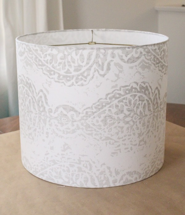 how to make your own lampshade with fabric