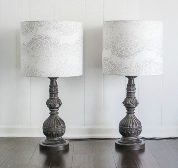 how to make drum lampshades