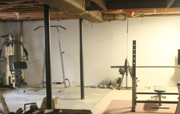 basement progress