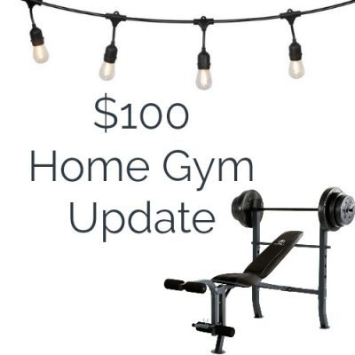 Basement Home Gym Update: The Final Stretch
