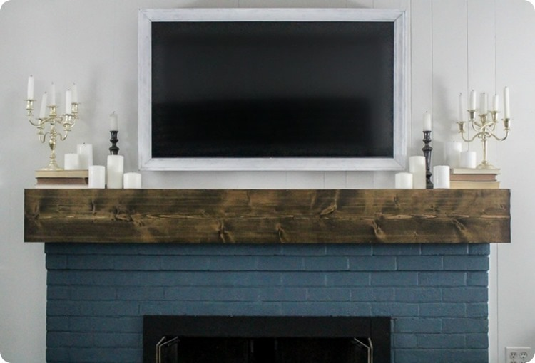 how to make a diy tv frame