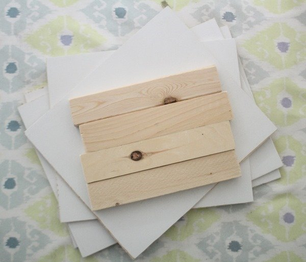wood pieces to build wooden box