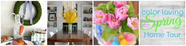 Spring home tour for the bloggers.