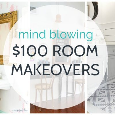$100 room makeovers that will knock your socks off