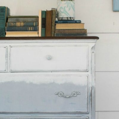 Repainting a dresser: third time is the charm