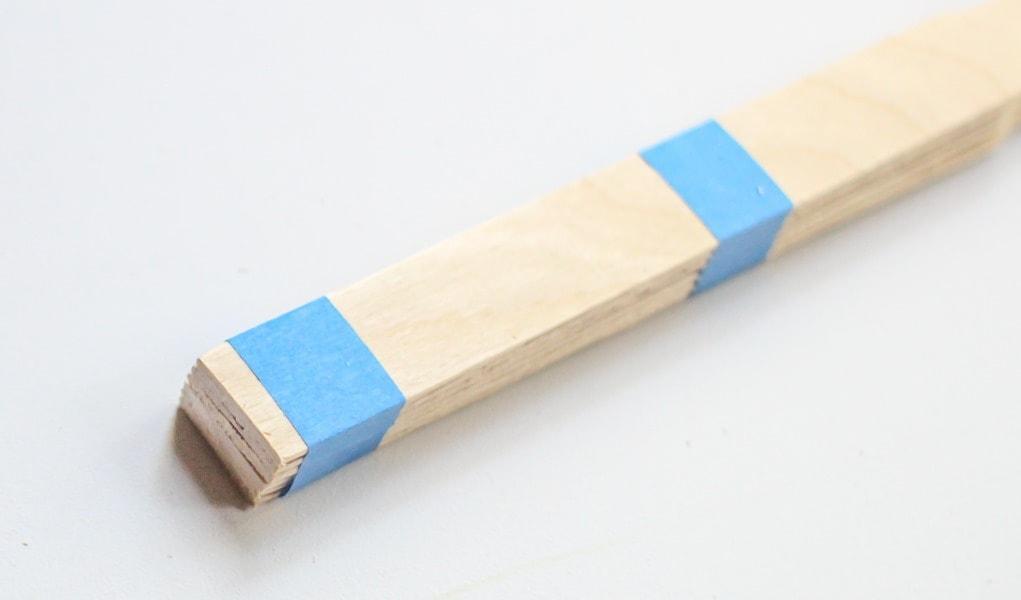 Cutting The Paint Sticks