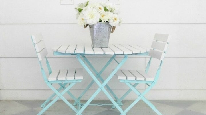 How To Paint Outdoor Furniture Like A, Cute Patio Furniture