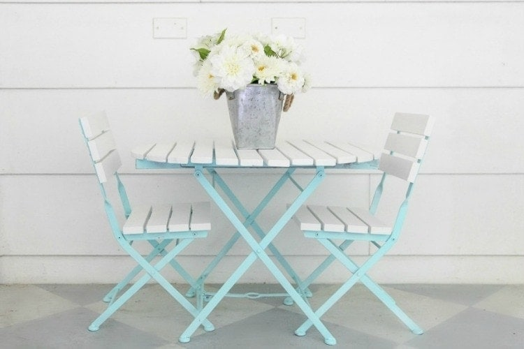 Tremendous How To Paint Outdoor Furniture Like A Pro Lovely Etc Bralicious Painted Fabric Chair Ideas Braliciousco