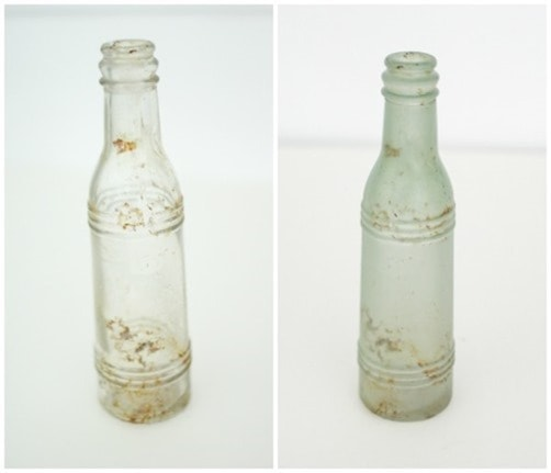 bottle before and after