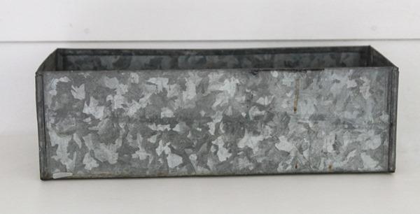 metal planter box