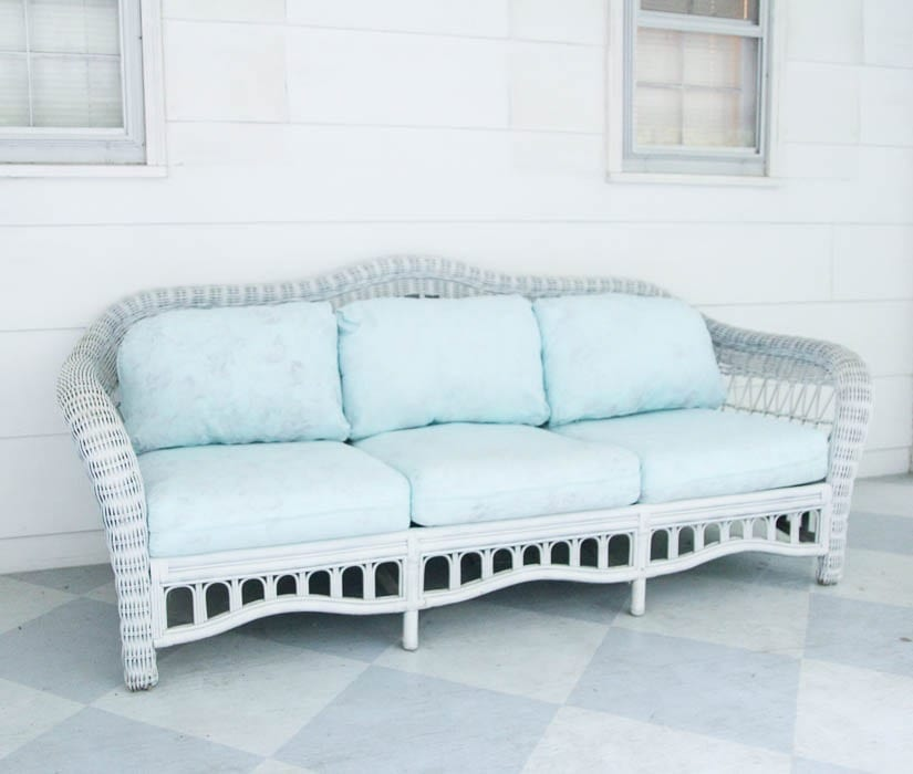 One Advantage Of Using Latex Paint To Your Cushions Is You Don T Have Add Wax Or Any Other Type Top Coat Seal The