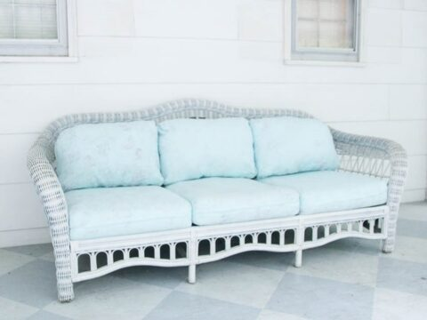 Painted Outdoor Cushions The Good, Fabric To Make Outdoor Furniture Covers
