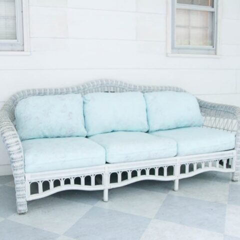 Painting outdoor cushion