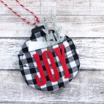 Buffalo Plaid Christmas Ornaments with a Twist